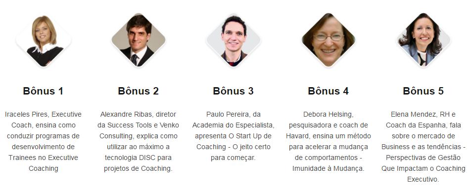 Bônus Especiais Master Coaching