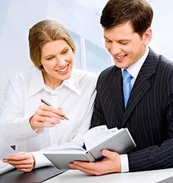 homem e mulher coaching